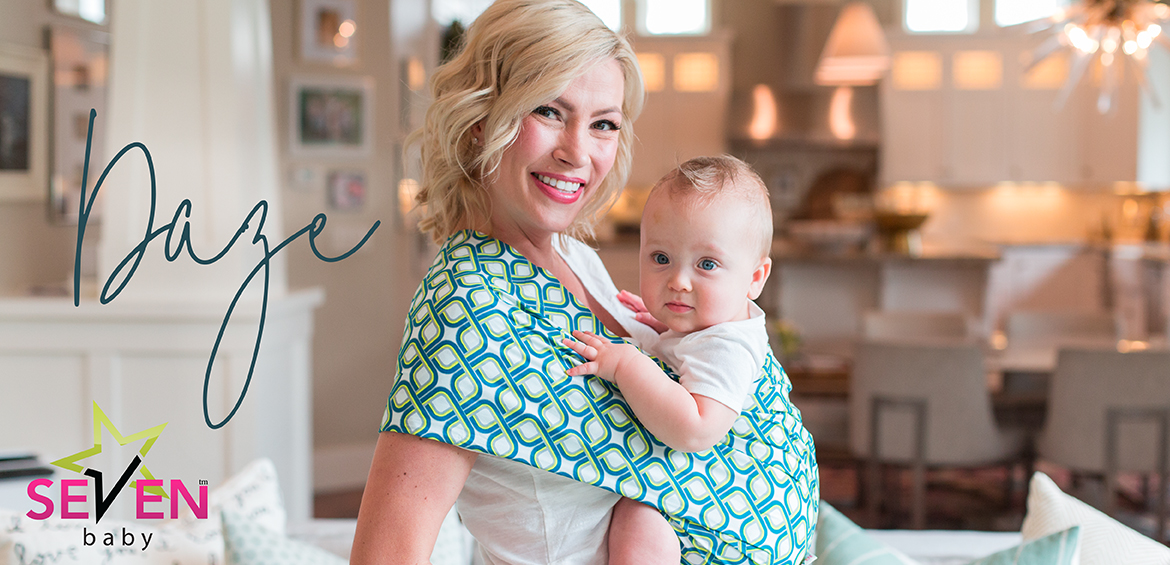seven baby sling how to use